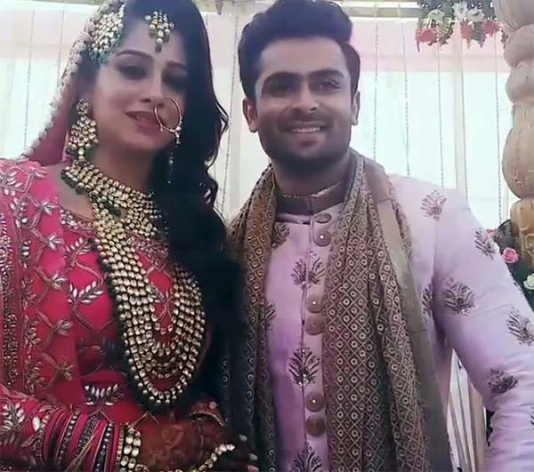 FIRST PICS OUT! Dipika Kakar and Shoaib Ibrahim are now married