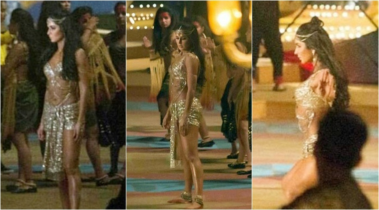 Katrina Kaif sizzles in gold in Thugs of Hindostan Dance number