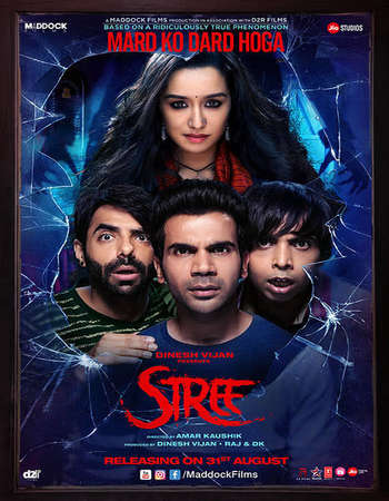 Stree 2018 Hindi 300MB Pre-DVDRip 480p